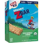 CLIF Kid Organic ZBar, Iced Oatmeal Cookie - 12 pack, 1.27 oz bars