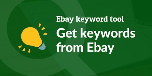 How to get keywords from Ebay using SeoStack