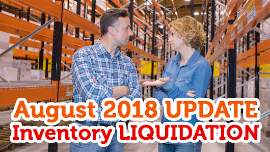 My August 2018 FBA Update: £15,068.33 in Sales + Inventory LIQUIDATION on Amazon US!