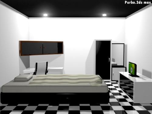 Design Interior Apartemen 2 Kamar Tidur