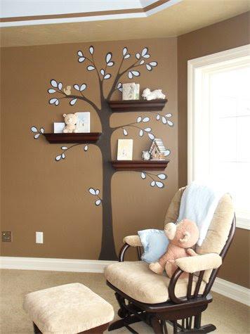 çocuk Odaları Için Duvar Boyama