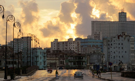 The seafront at Havana