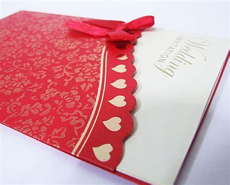 No 90 red wedding invitation card wedding card ? Wholesale
