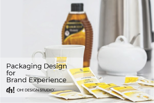 Introducing Brand Experience Goals Into Packaging Design Development - Blog | OH! Design Studio, India