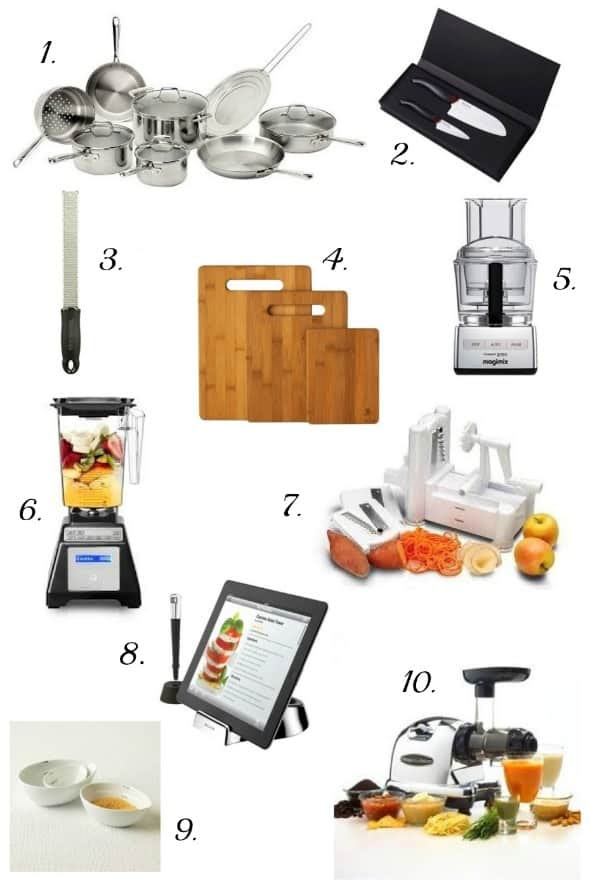 Gift Ideas for Food Lovers Home Cooks 2013 Holiday Gift Guide |10 Gift ...