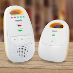 VTech Safe & Sound Digital Audio Baby Monitor DM111 Baby Monitoring System - DECT