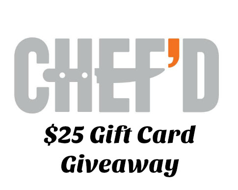 Cooking with Chef'd + a Giveaway