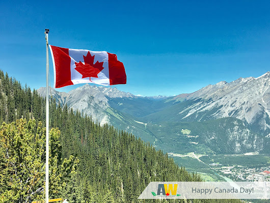 Happy Canada Day from Your Friends at Arwood Waste - AW Waste - Canada's Family Owned Waste Company