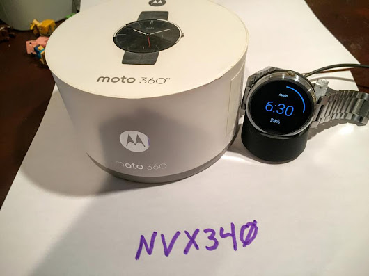 Moto 360 (Smart Watch) For Sale - $139 on Swappa (NVX340)