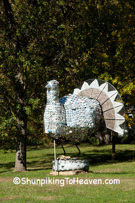 Turkey Sculpture, Vernon County, Wisconsin
