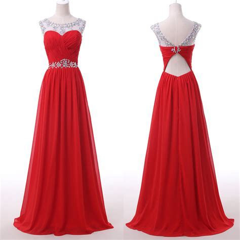 2015 Long Formal Evening Dress Bridesmaid Wedding Party