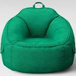 Canvas Bean Bag Chair Strut Green - Pillowfort