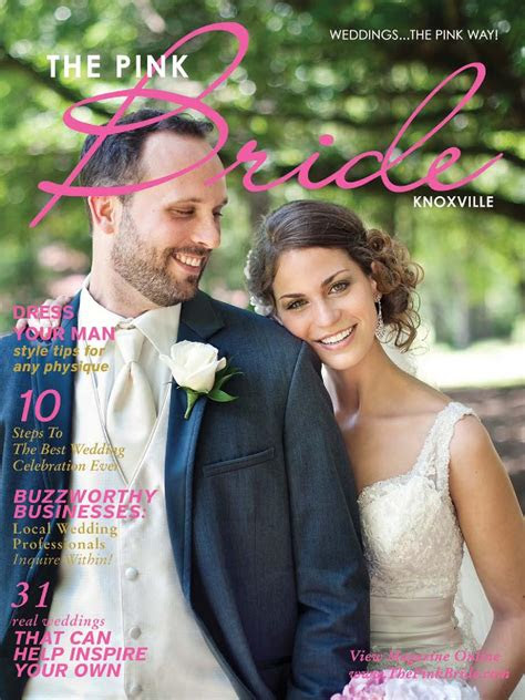 knoxville pink bride magazine winter    pink