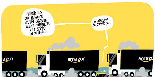 Amazon maille la France de ses entrepôts