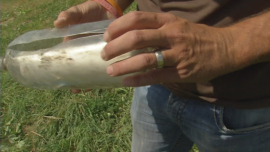Southern Indiana farmer finds message in a bottle nearly 20 years later