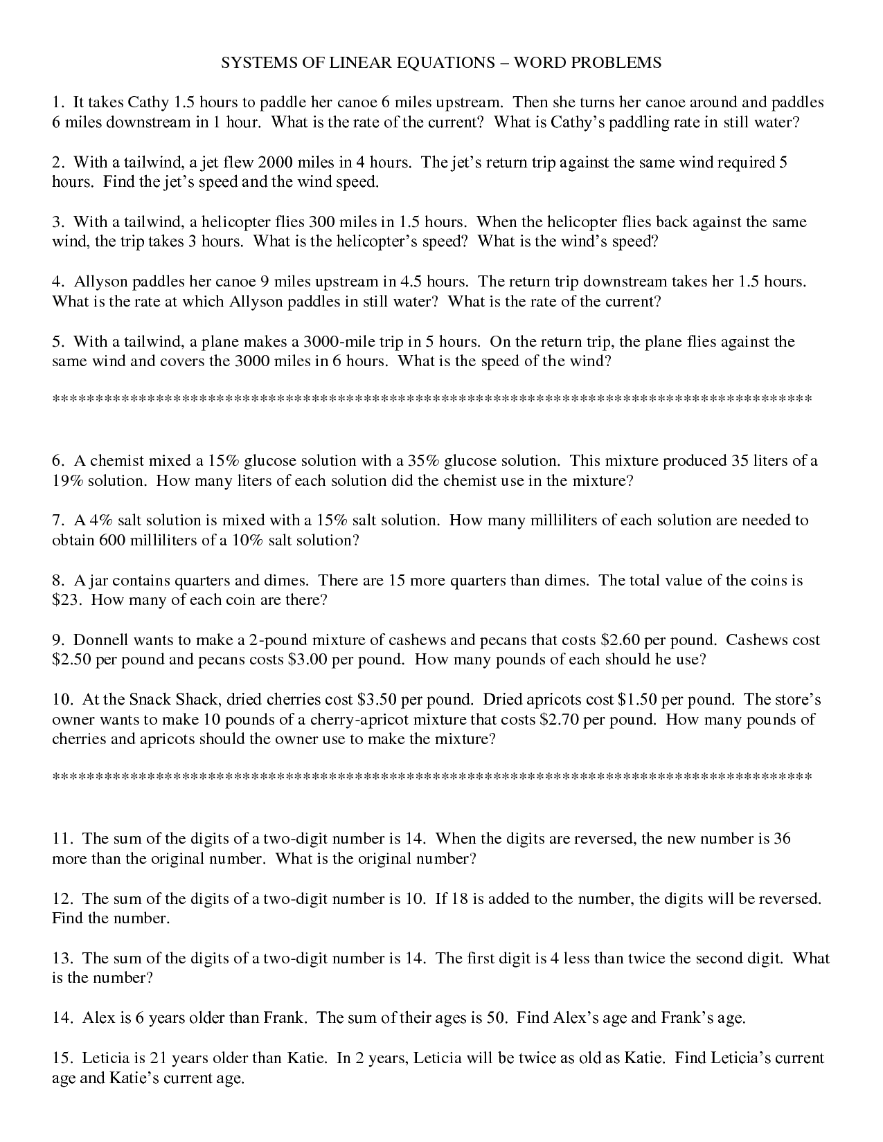 15 Best Images of Translating Words To Equations Worksheets  Translating Algebraic Expressions