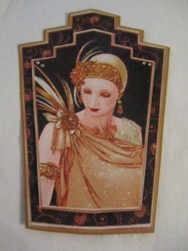 Art Deco Lady Cards   eBay