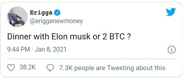 My tweet makes the richest man in the world burst into a cry – Rapper Erigga excited as Elon Musk reacts to his tweet