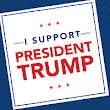 "Free ""I Support Trump"" Sticker 