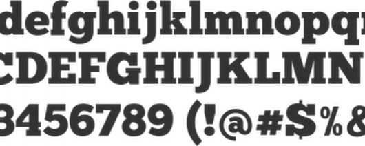 Free Font ChunkFive by The League of Moveable Type | Font Squirrel
