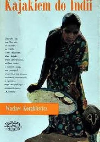 Okładka książki Kajakiem do Indii