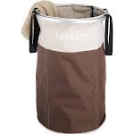 Whitmor Easycare Round Laundry Hamper - Java