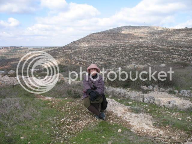me at Tel Shiloh