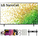 """LG 55"""" NanoCell 80 Series LED 4K UHD Smart webOS TV 2021 with Movies Streaming Pack"""