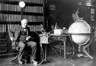Mr. Thomas Alva Edison calling Document