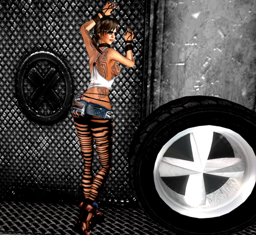 NEW! Hot Mood Outfit & Garage Accessories