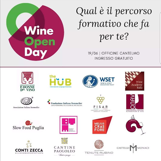 Wine Open Day – 19 Giugno 2018 – Marco Massaro – Wine Blogger | Web Designer