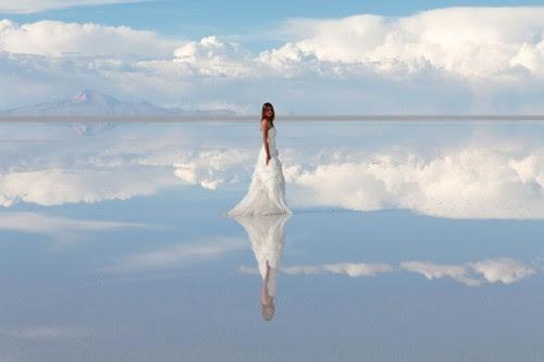 Salar de Uyuni in South America