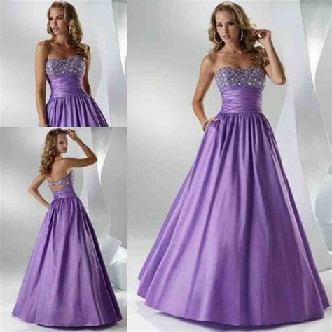 Purple And Silver Wedding Dresses   Wedding and Bridal