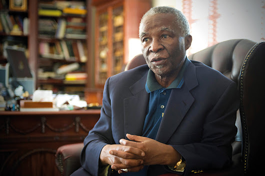 Thabo Mbeki questions South Africa's free higher education policy