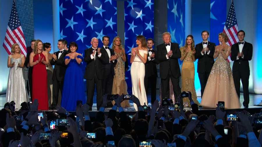 Image result for trump inauguration ball fashion