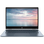"HP - 2-in-1 14"" Touch-Screen Chromebook - Intel Core i3 - 8GB Memory - 64GB eMMC Flash Memory - White"