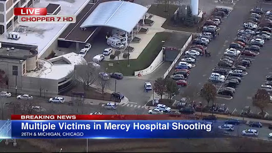 WATCH LIVE: Chopper 7HD above Mercy Hospital after reports of shots fired
