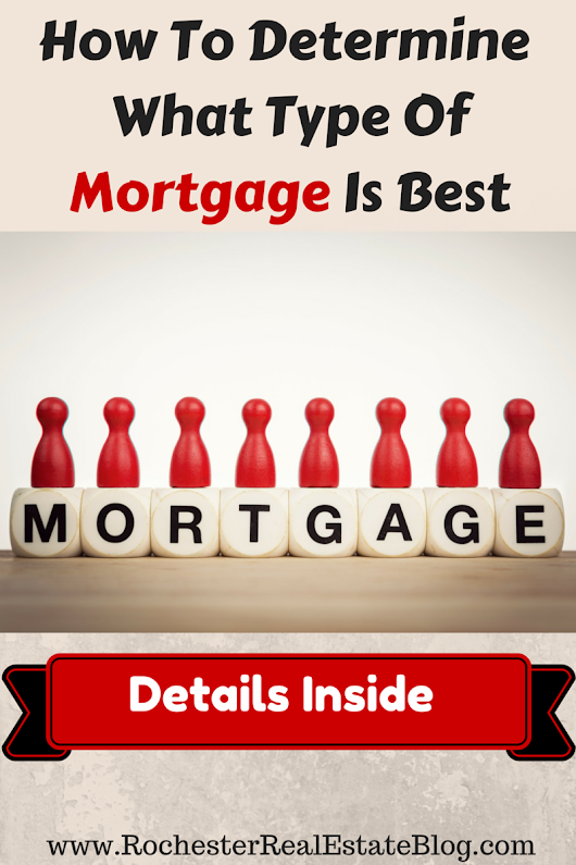 How To Determine What Type Of Mortgage Is Best For Me