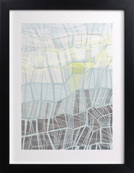 Fragmented Landscape Wall Art Prints by Gill Eggleston | Minted