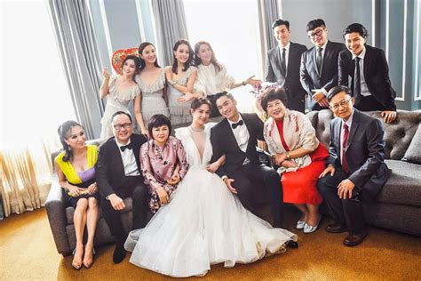 [Celebrity Weddings] Gillian Chung and Michael Lai Tie the