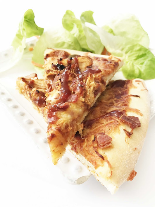Healthified BBQ Chicken Pizza