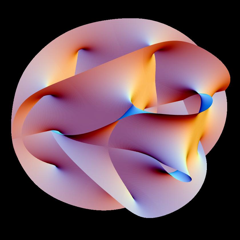 Posible forma de las dimensiones extra