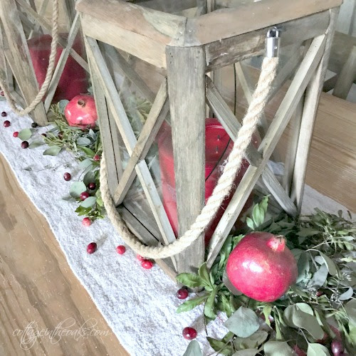 Christmas Centerpiece Ideas - Cottage in the Oaks