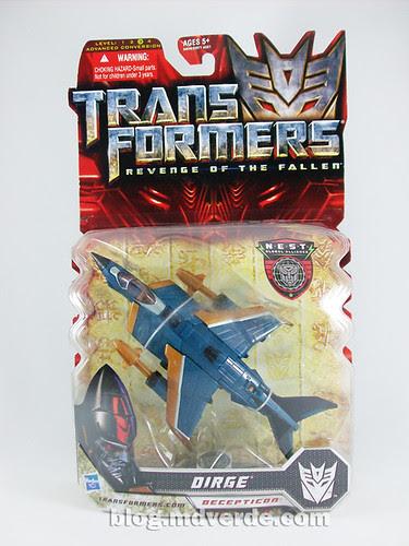 Transformers Dirge Deluxe RotF NEST - caja