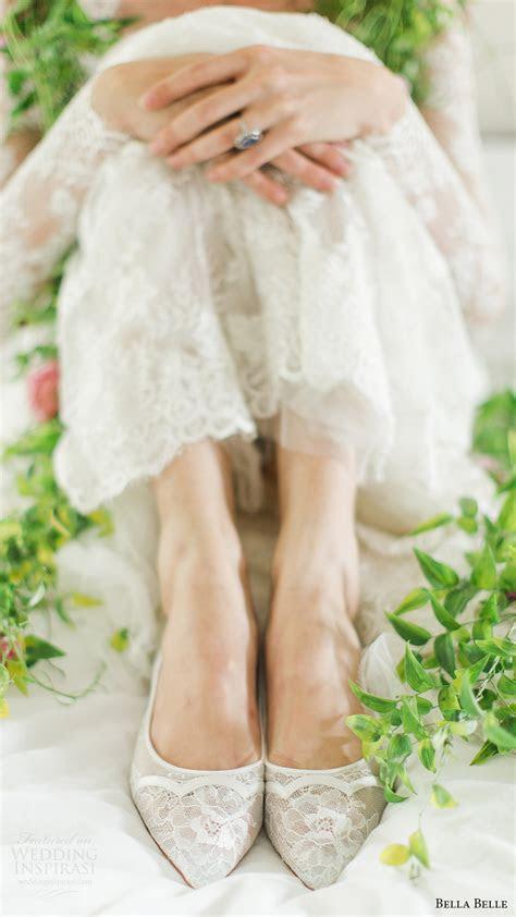 trubridal wedding blog bella belle  wedding shoes