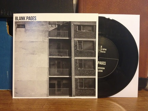"Blank Pages - Unseen 7"" by Tim PopKid"