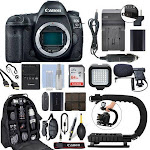 Canon EOS 5D Mark IV DSLR Camera with 64GB Pro Video Kit