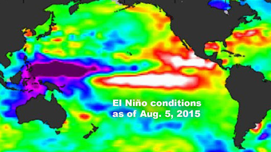 Latest forecast suggests 'Godzilla El Niño' may be coming to California