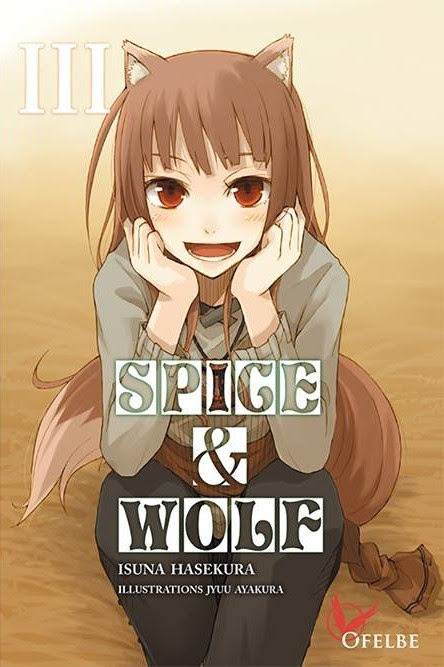 Couverture Spice & Wolf (roman), tome 3