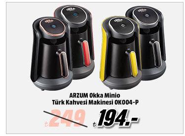 ARZUM Okka Minio Türk Kahvesi Makinesi OKOO4-P 194TL